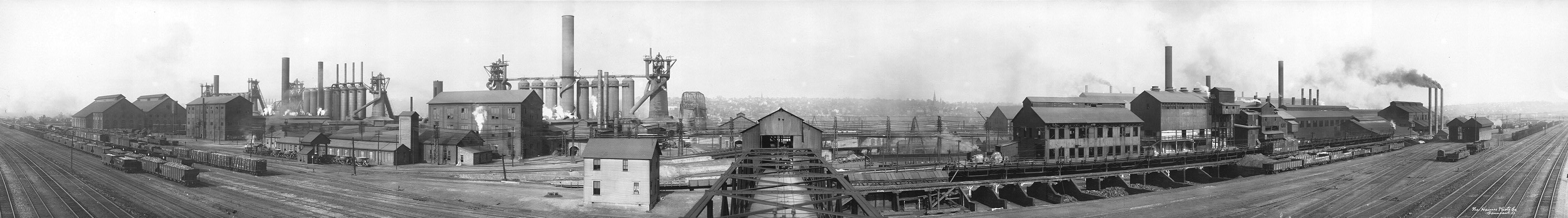 Carnegie Steel Works, Youngstown, Ohio, 1910