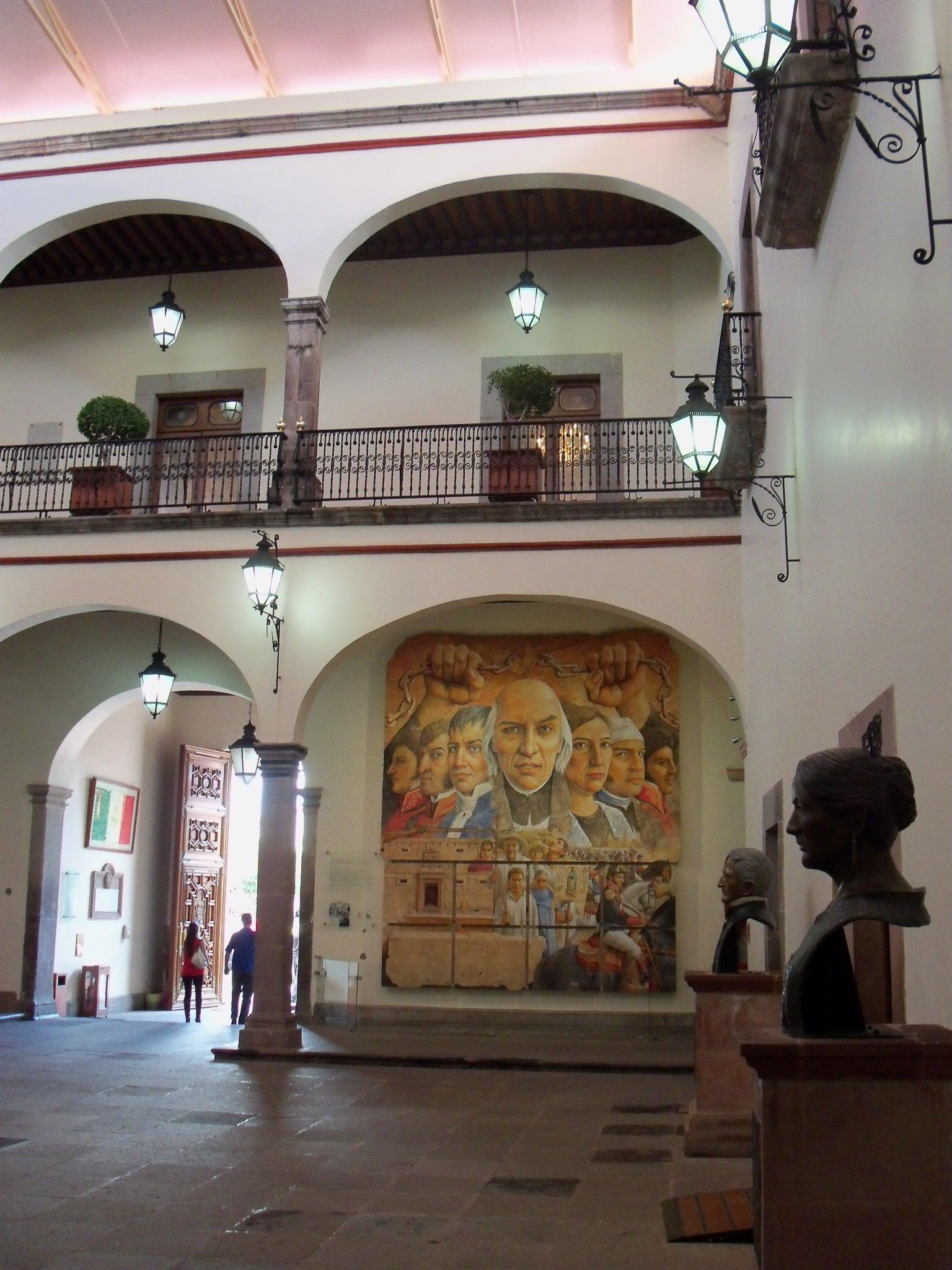 Casa De La Corregidora Queretaro Mural Filecasa