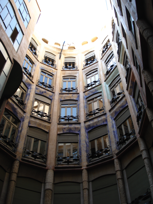 Casa Mila Courtyard