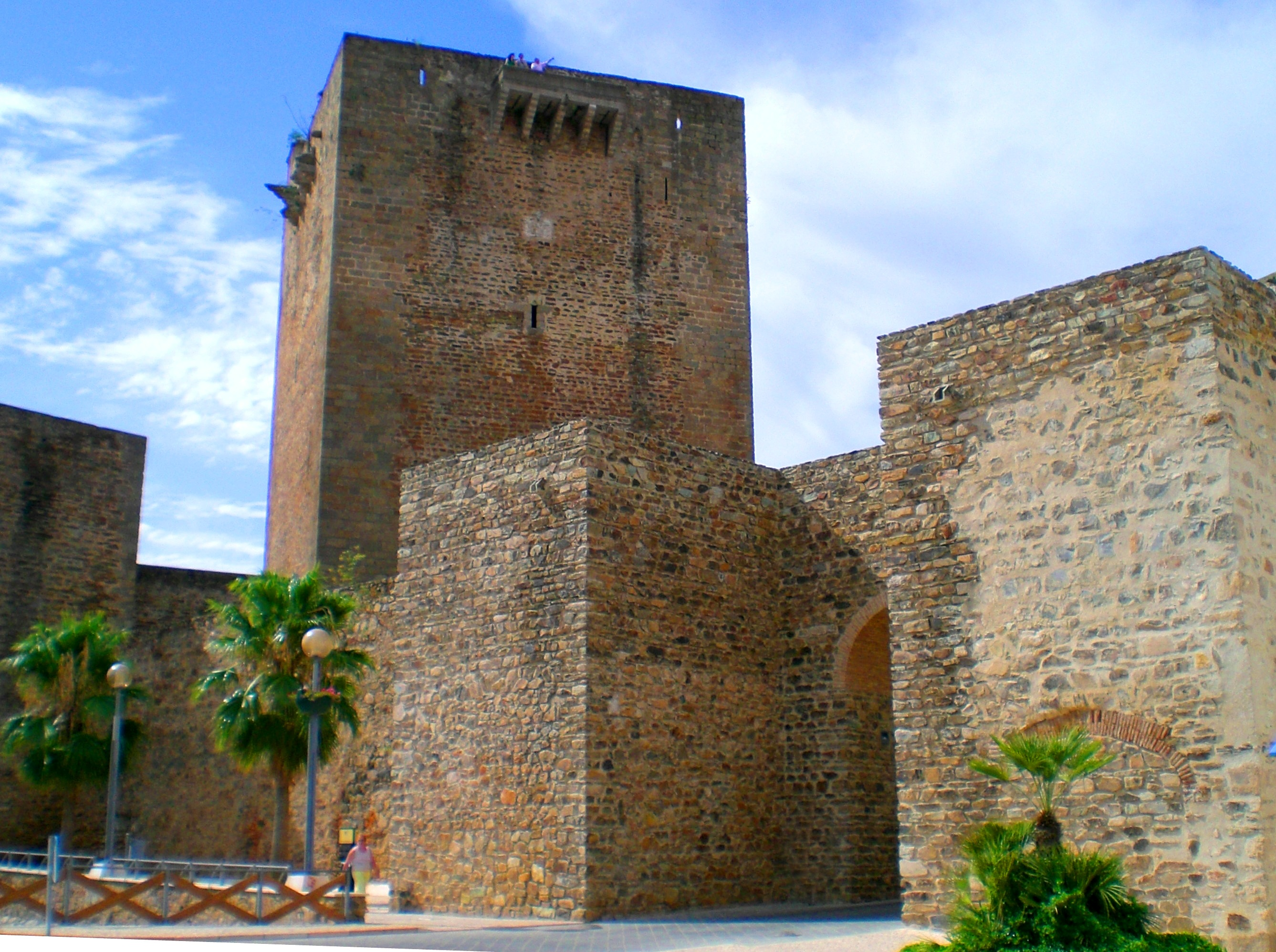 Badajoz Spain  city photos gallery : Tiedosto:Castle of Olivenza, Badajoz, Spain August 2007 ...