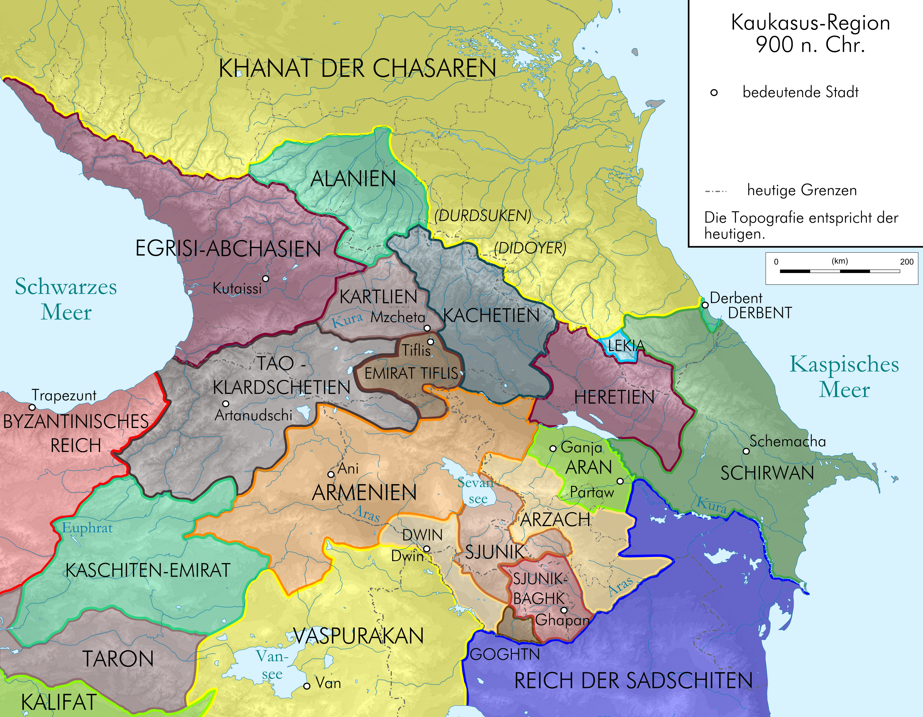 File Caucasus 900 map Wikimedia Commons