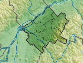 Voir la carte administrative du Centre-du-Québec