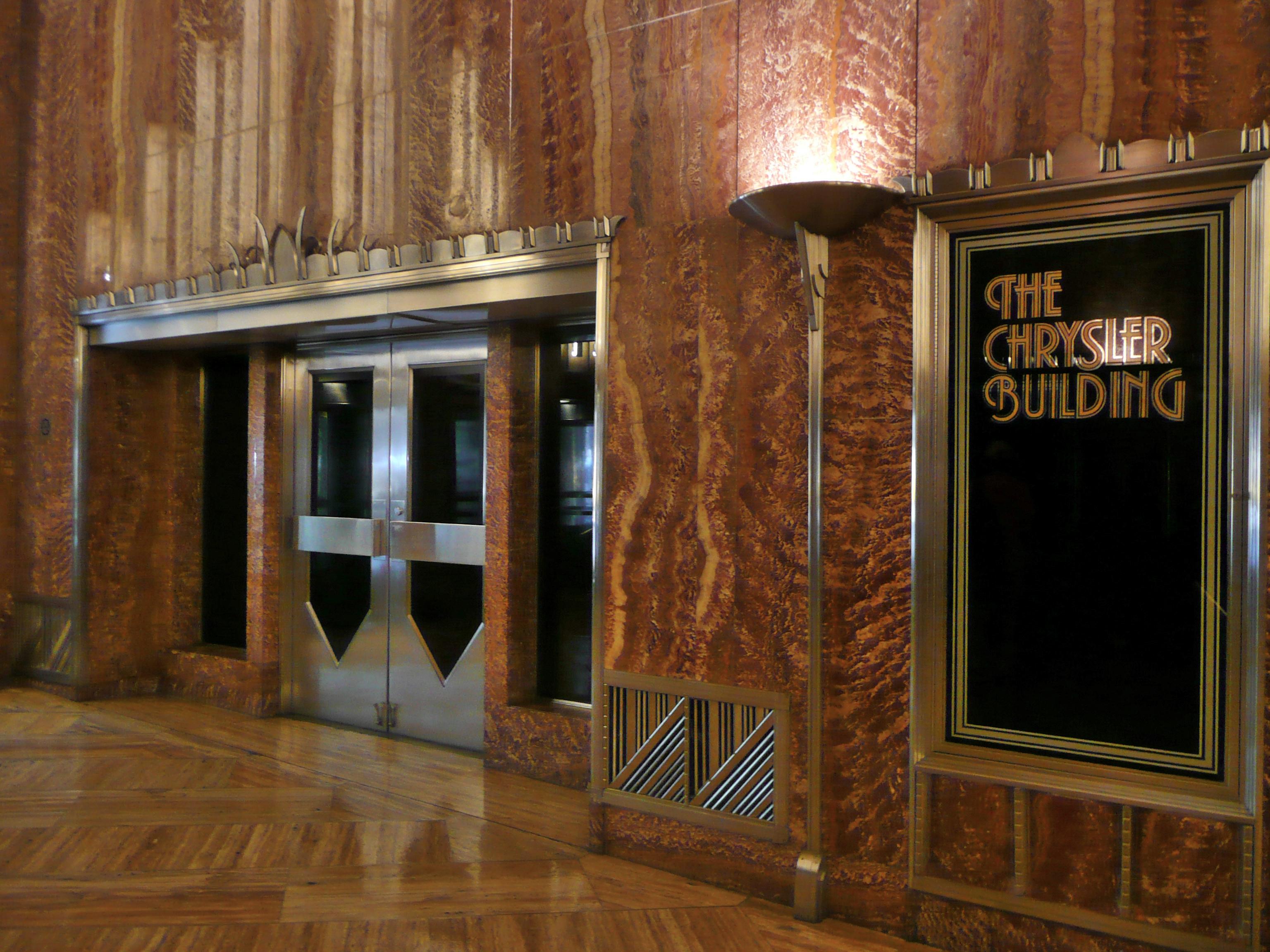 Chrysler Building New York Inside