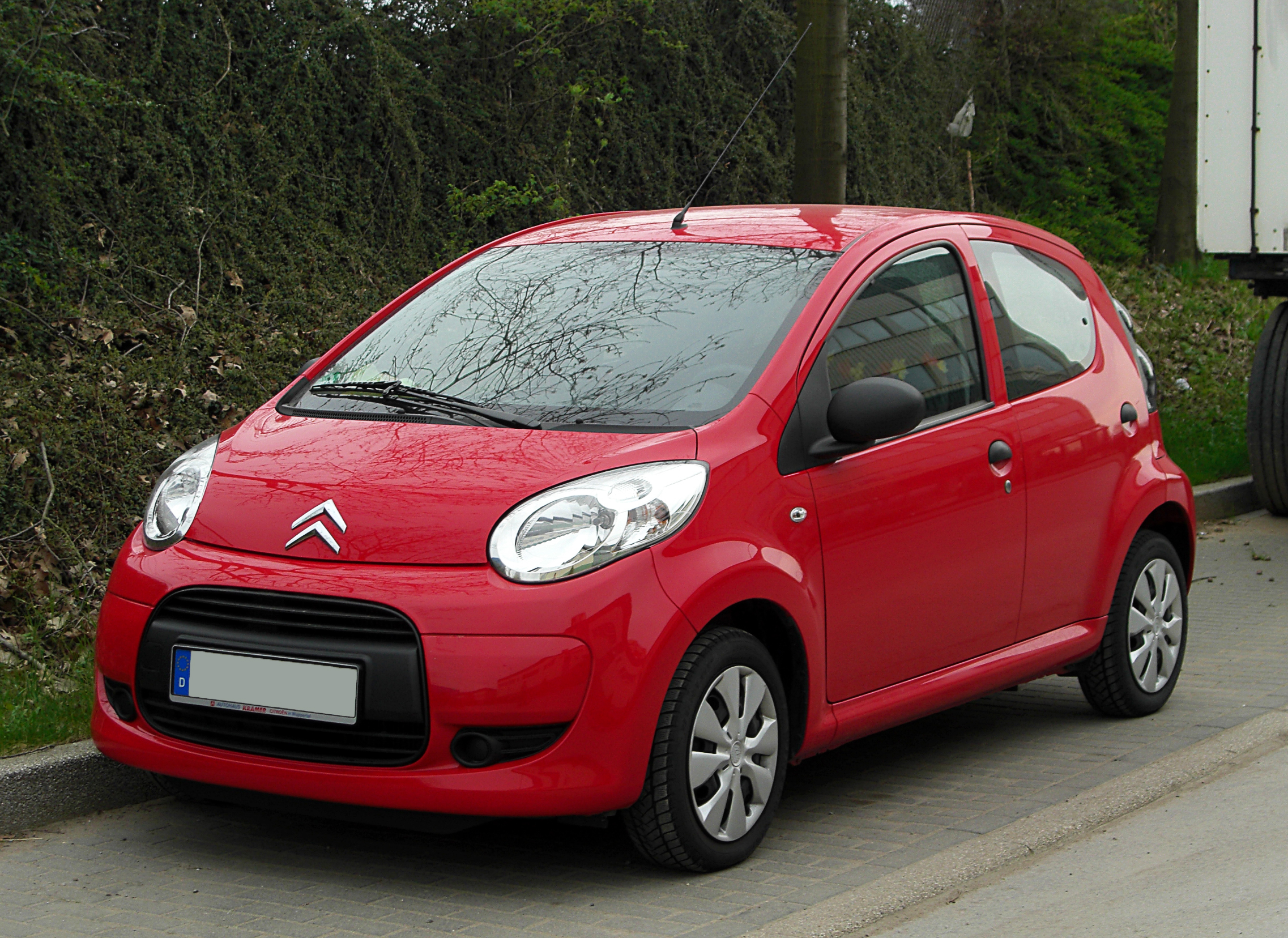 Description Citroën C1 1.0 (Facelift) – Frontansicht, 7. April 2011 ...