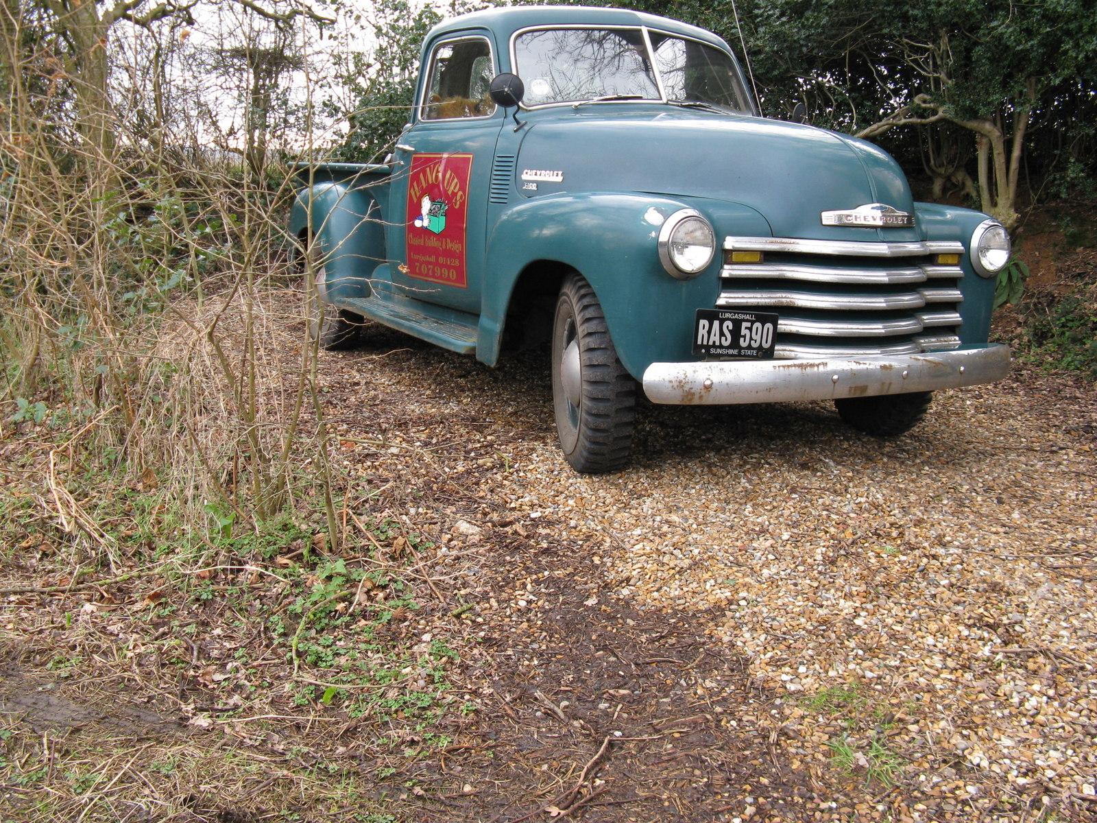 File:Classic Chevrolet pickup - geograph.org.uk - 1734666.jpg ...