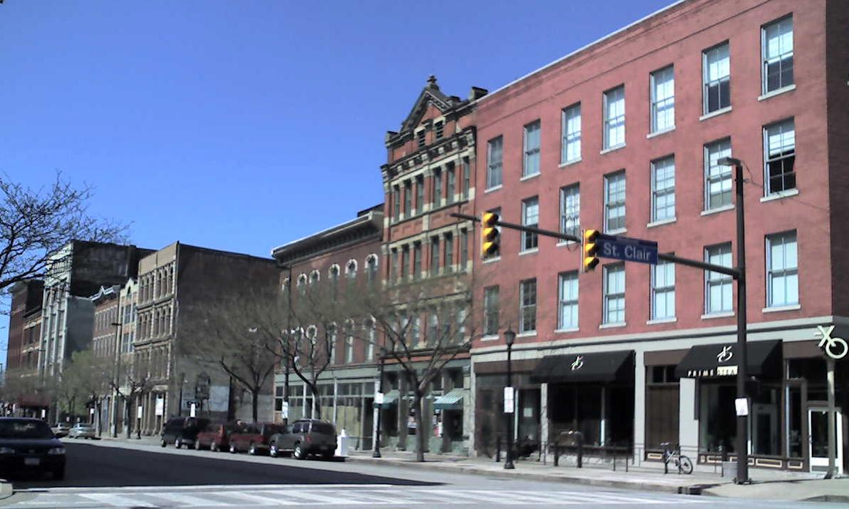 Downtown Cleveland Ohio City Rachael Edwards