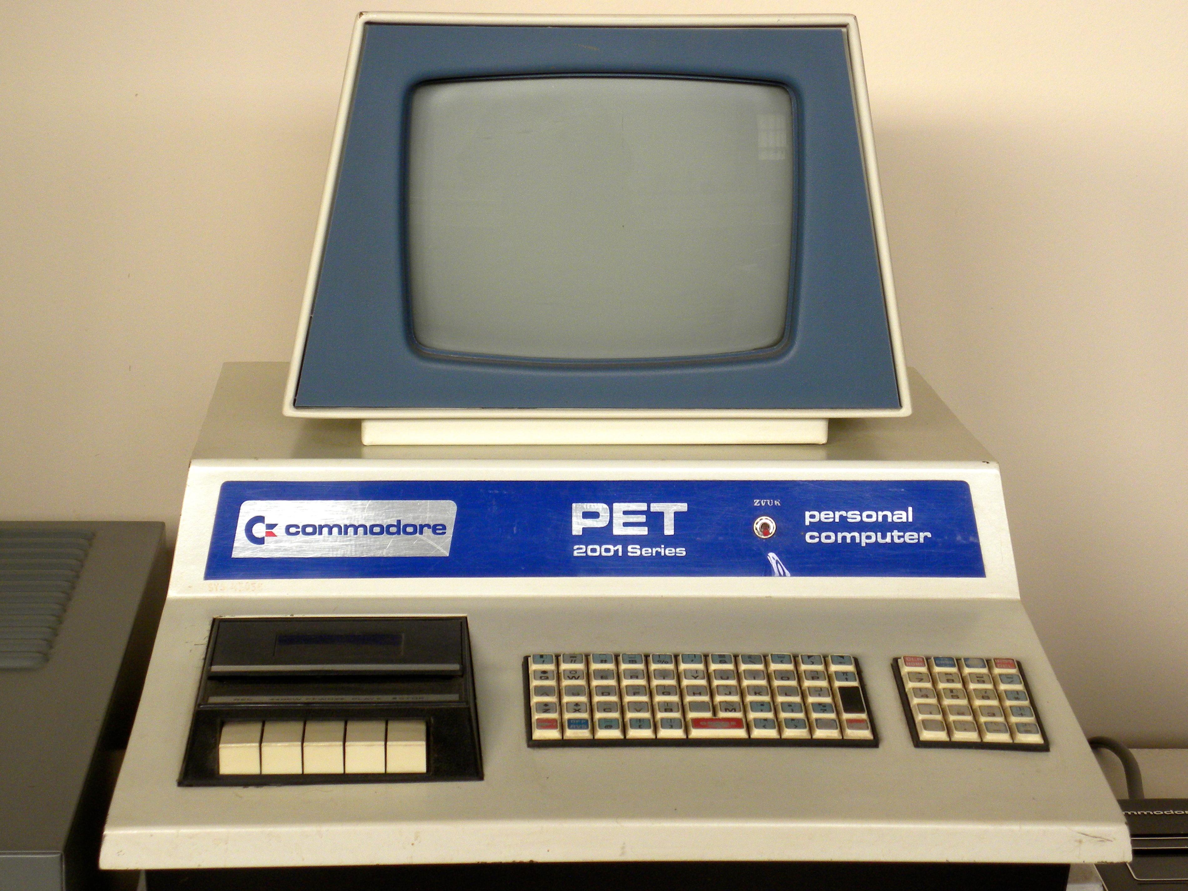 Retro Photos File Commodore Pet 2001 In Zagreb Technical Museum Jpg