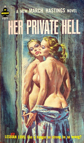 Cover of Her Private Hell by March Hastings 1963