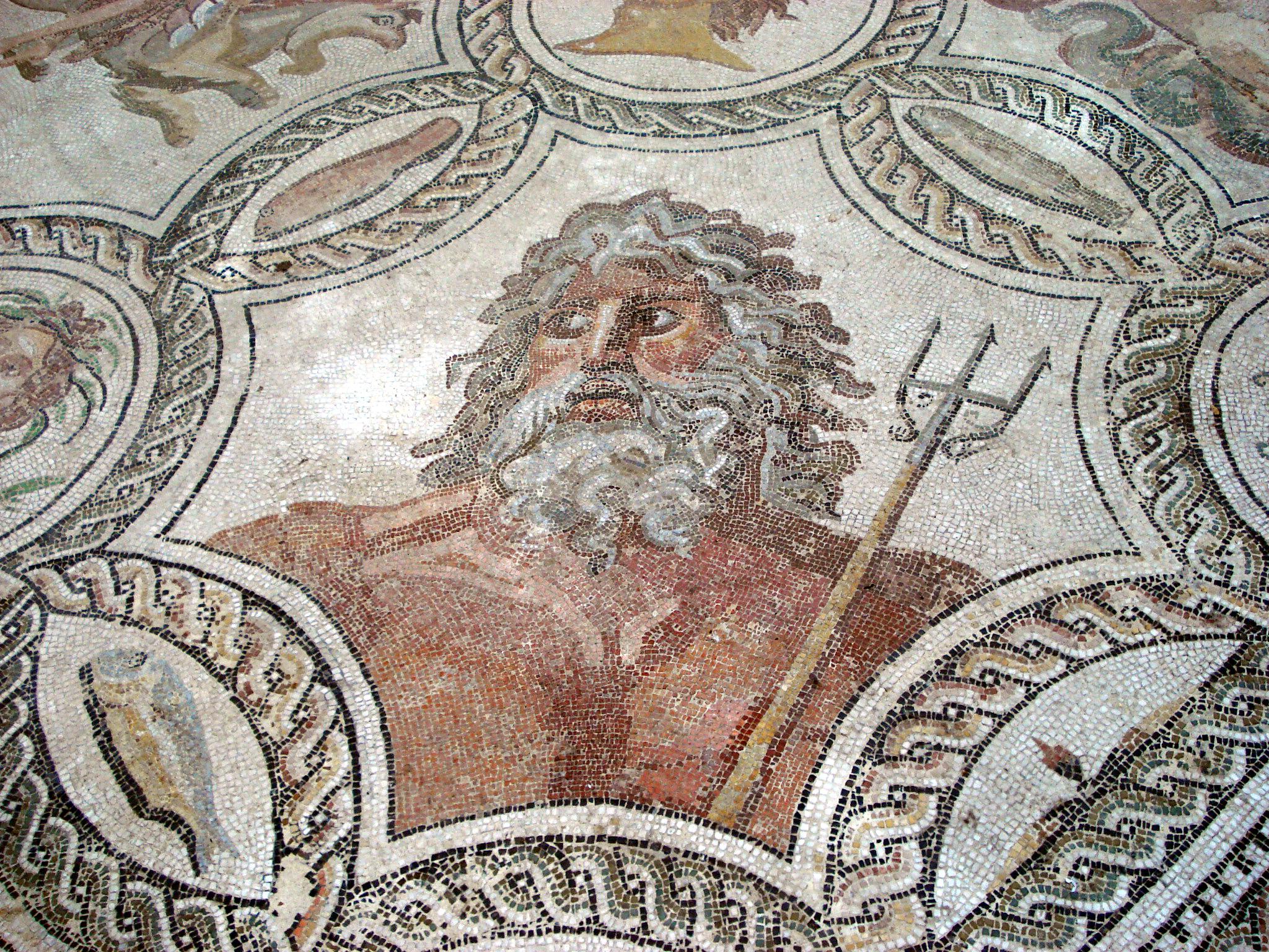 DSC00363 - Mosaico delle stagioni (epoca romana) - Foto G. Dall'Orto.jpg