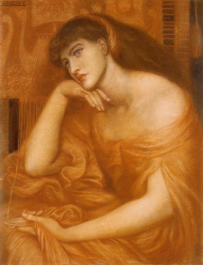 Dante Gabriel Rossetti - Penelope