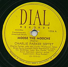 Moose the Mooche 1946 single by Charlie Parker