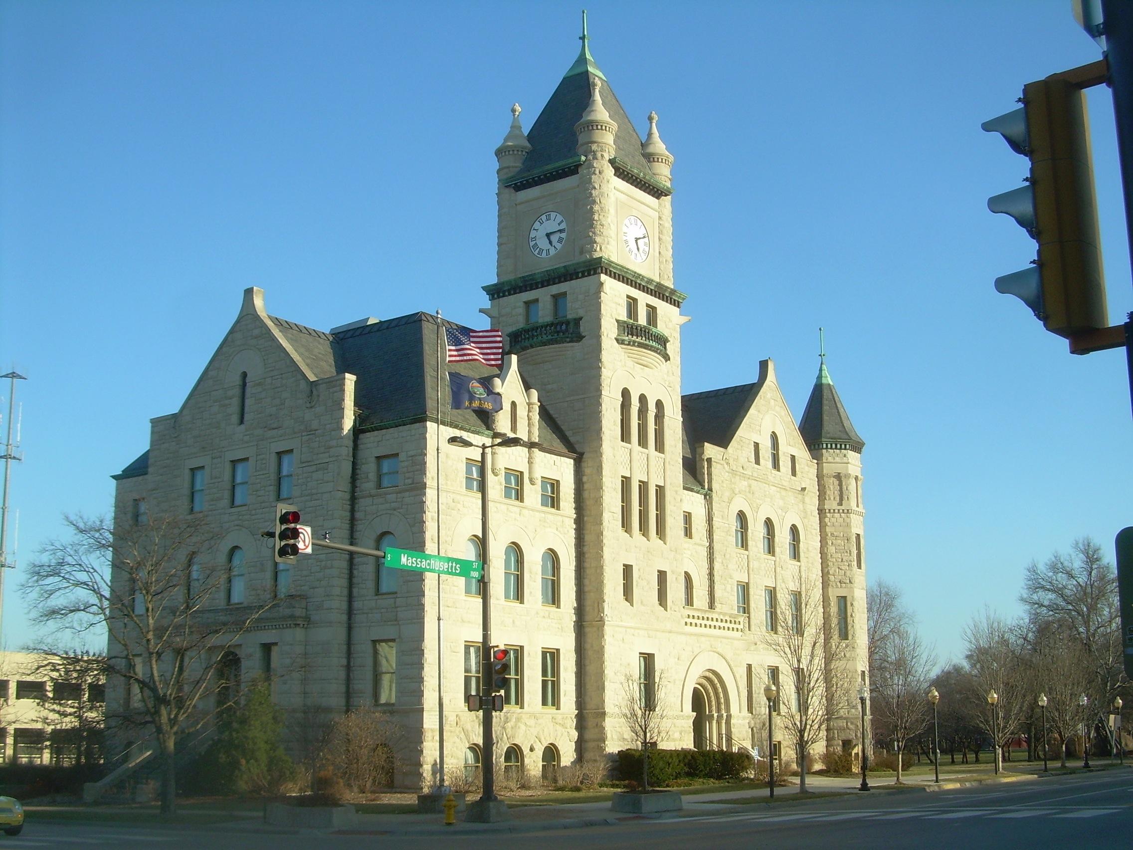 File:Douglass County courthouse, Lawrence, Kansas jpg