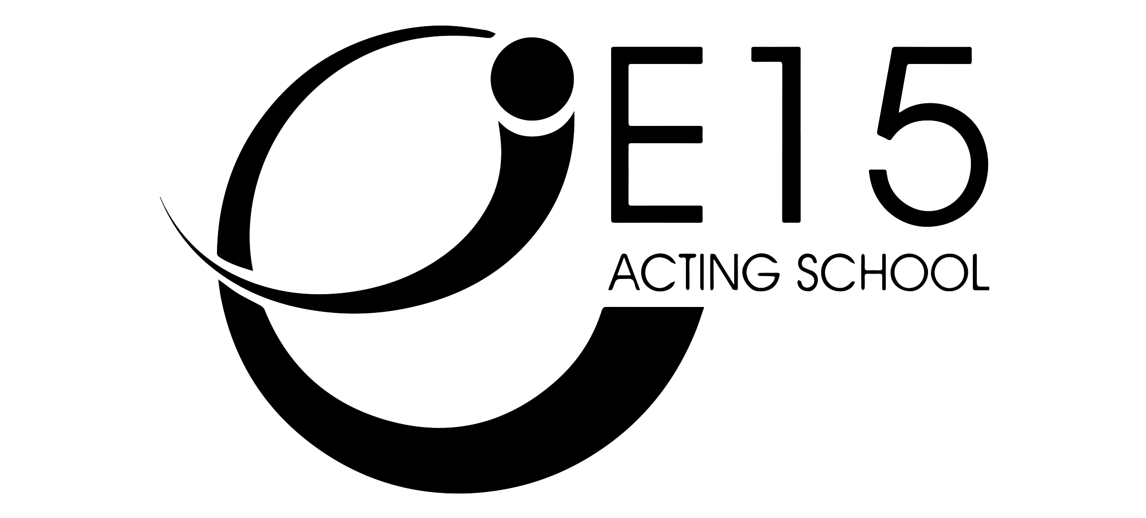 File East 15 Acting School Logo In Black And White Png Wikimedia