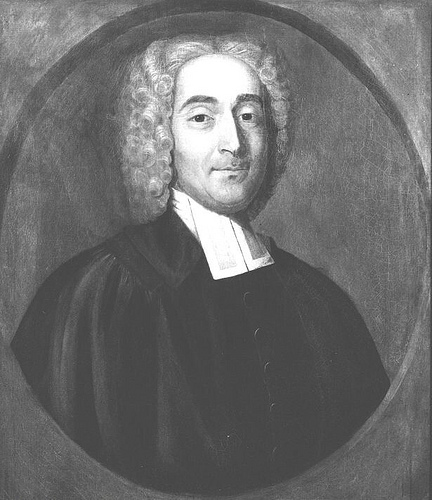 Portrait of Rev. Elisha Williams,fourth Rector of [[Yale College]]