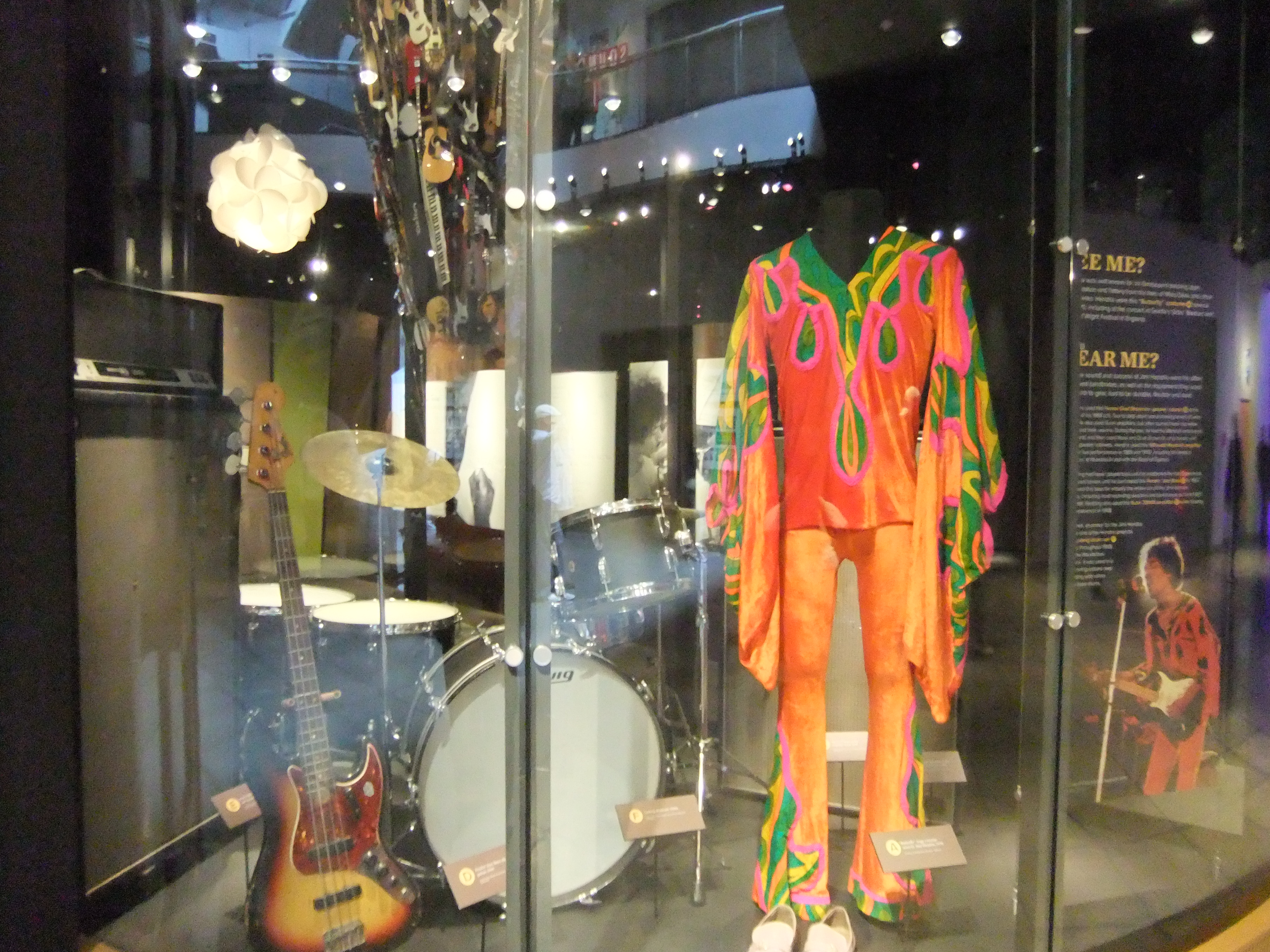 Charming File:Experience Music Project, Science Fiction Museum, Seattle  Jimi  Hendrix (9447228870 Amazing Ideas