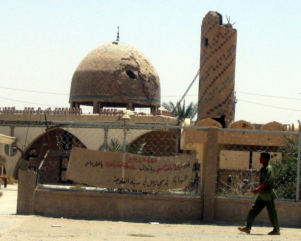Destruição em Fallujah. Foto: Joe Carr (Wikimedia Commons)