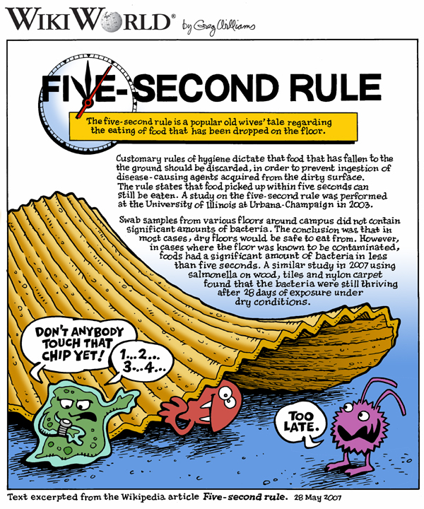 The Five Second Rule Really Works Well Almost Health24