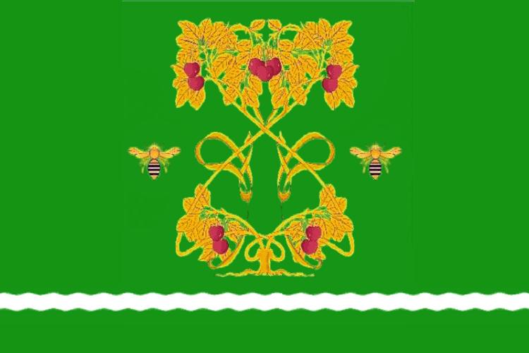 Flag of Uvarovsky rayon.png