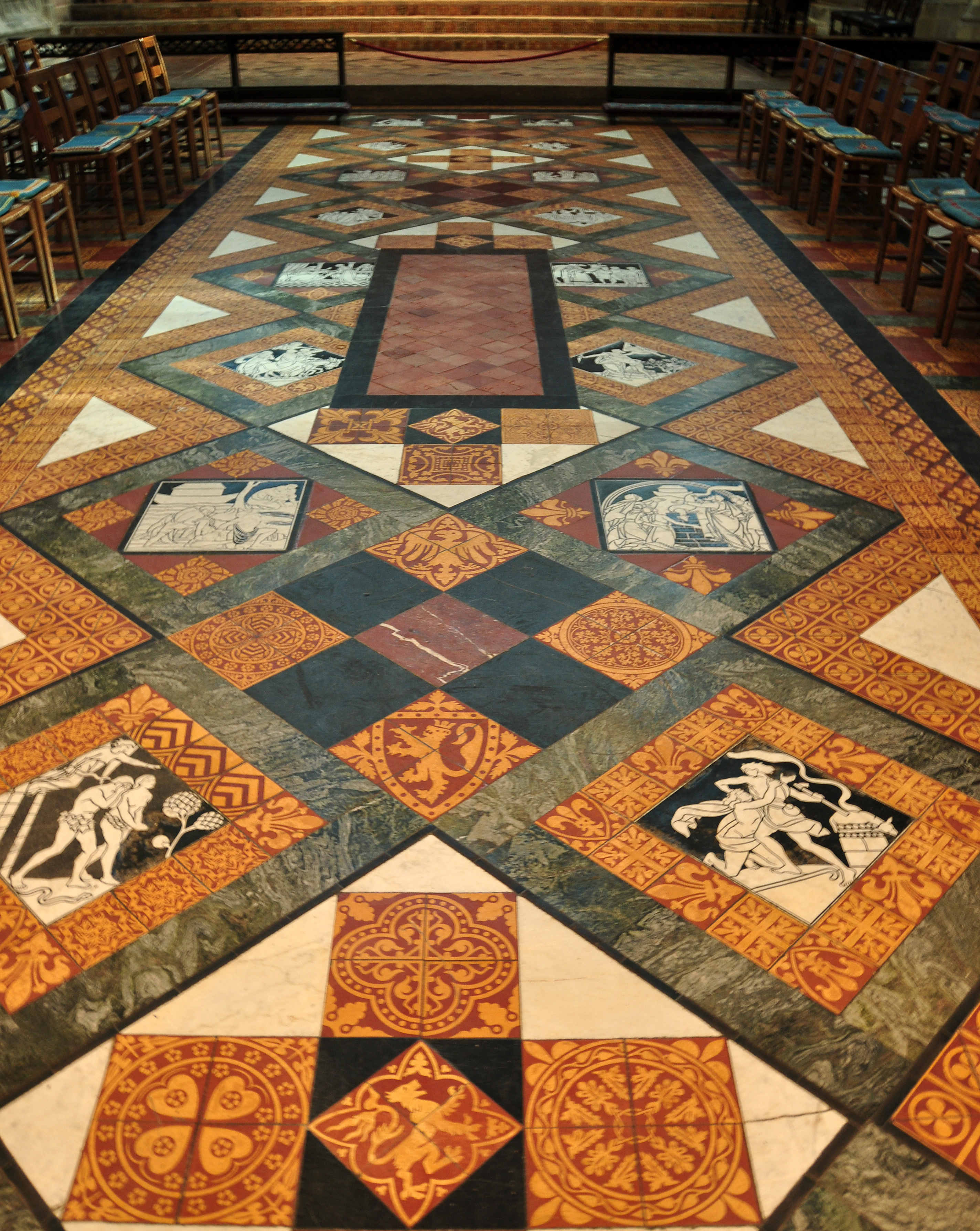 File Floor In Gloucester Cathedral Jpg