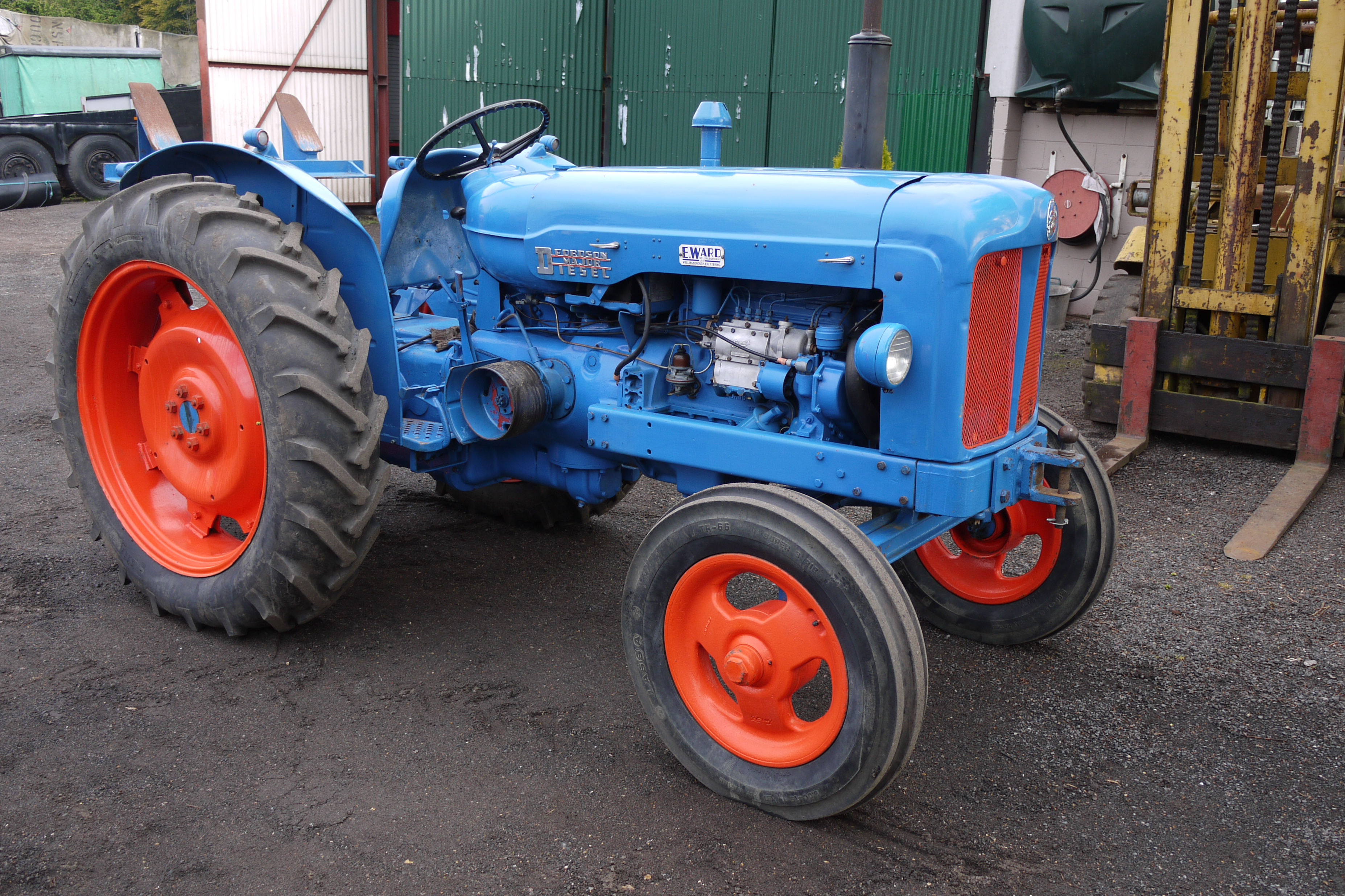 how to start a fordson major