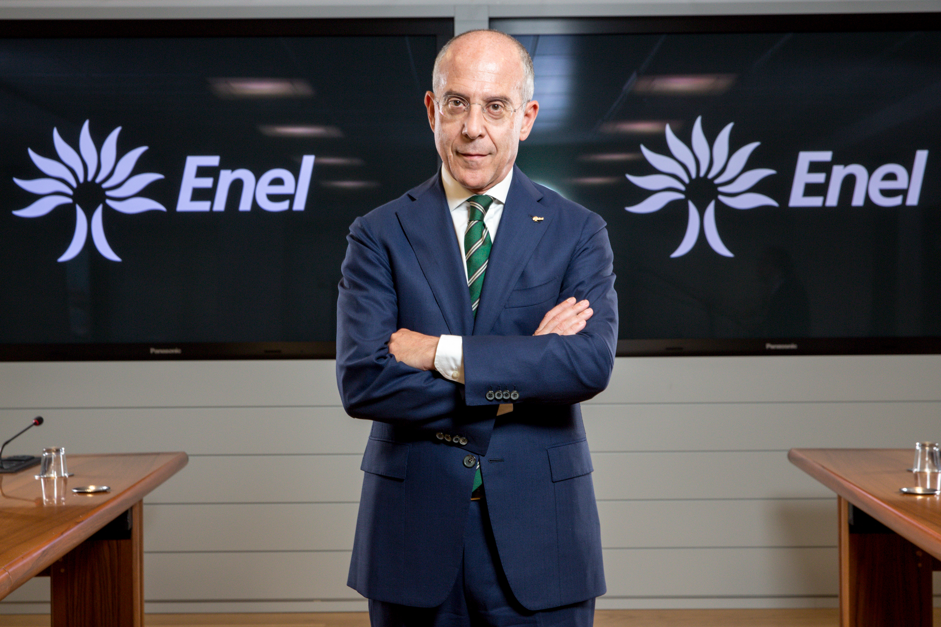 File Francesco Starace CEO and general manager Enel Group