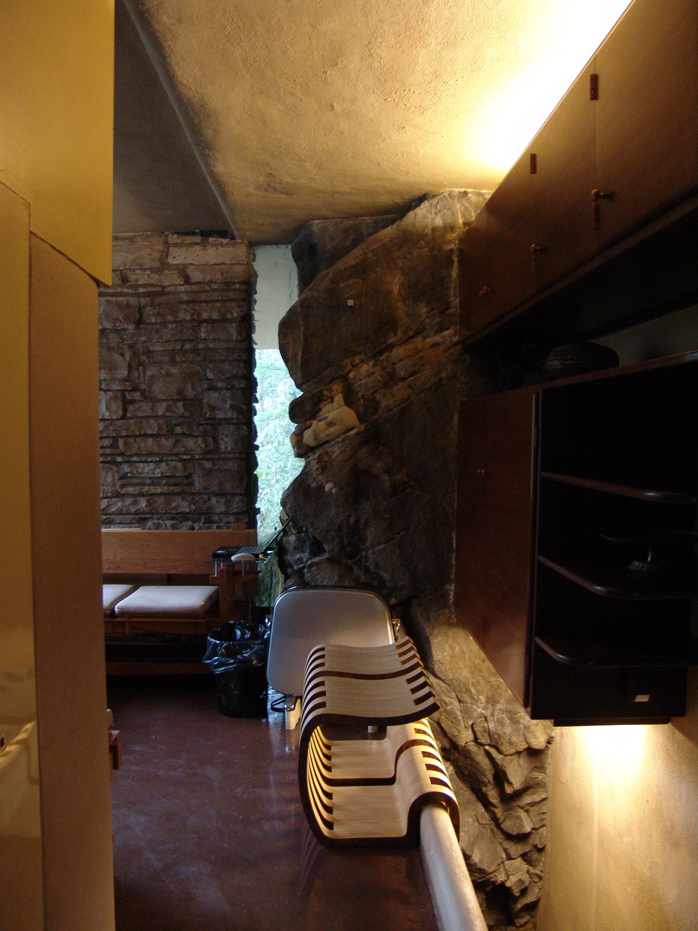 File Frank Lloyd Wright Fallingwater Interior 1 Jpg