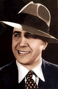 Depiction of Carlos Gardel