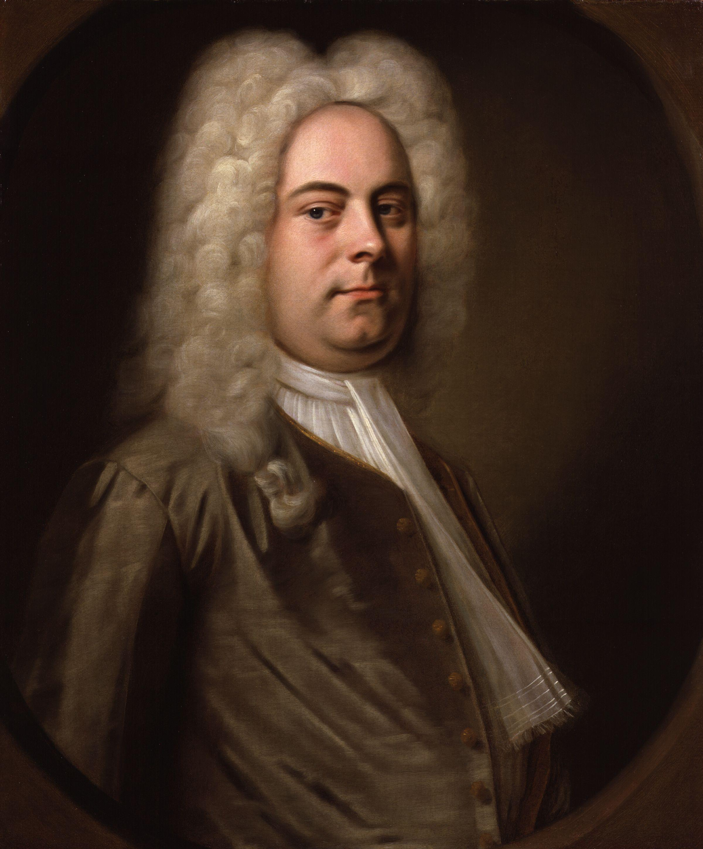 Portrait of Handel, {{nowrap|by [[Balthasar Denner]]}} ({{circa|1726–1728}})