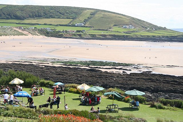 Georgeham, Croyde Bay - geograph.org.uk - 514167
