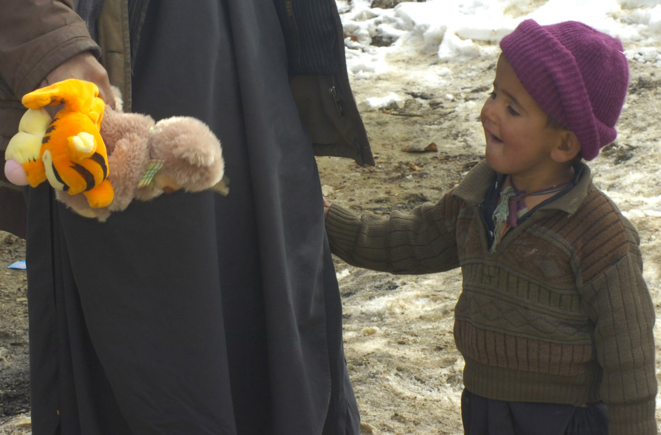 File:Ghazni PRT brings medical care and winter clothes to ...
