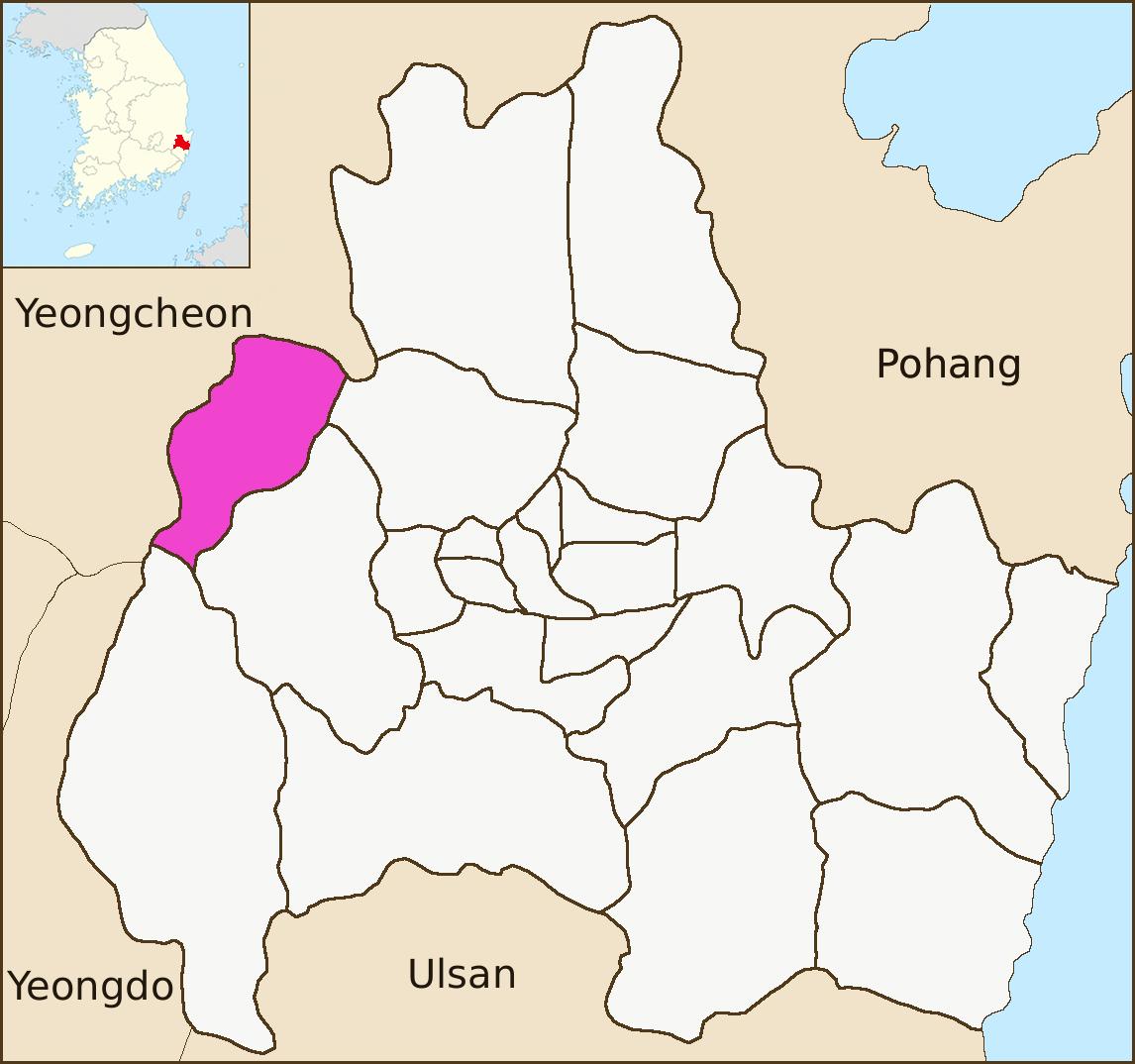 File:Gyeongju map-Seo-myeon-01.png - Wikipedia