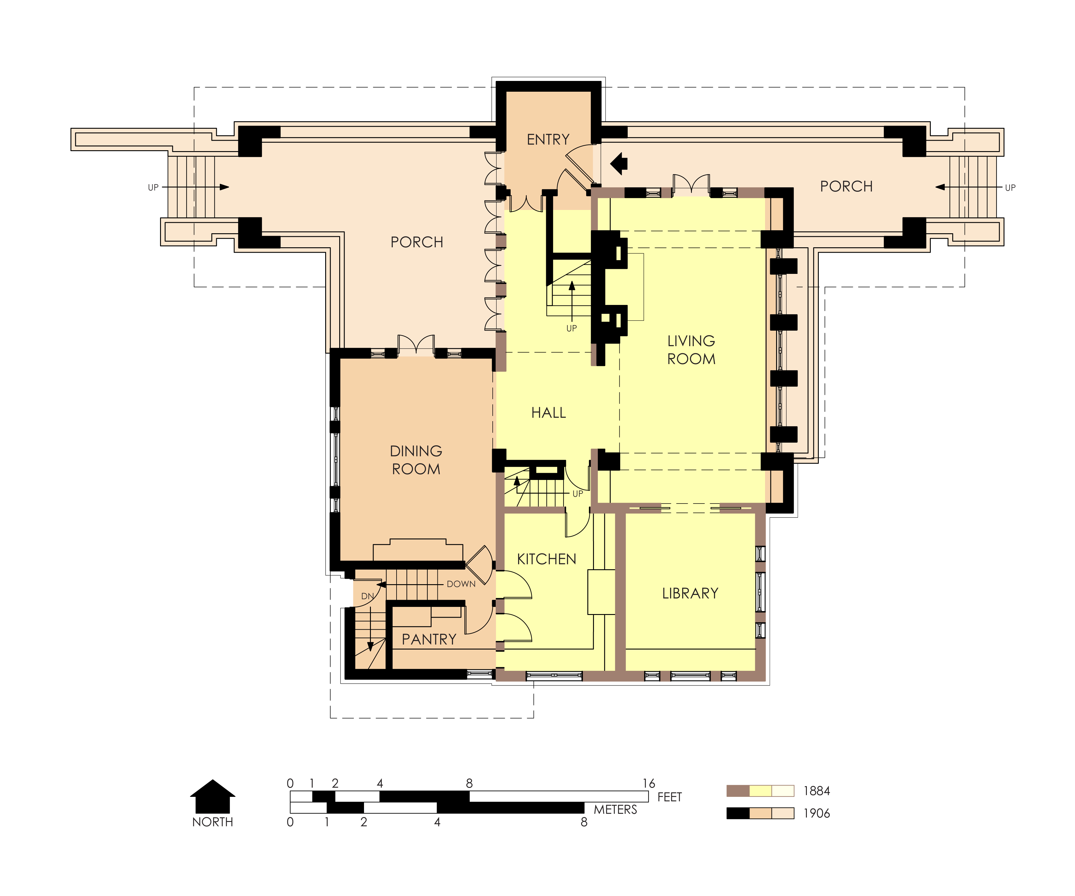 File hills decaro house first floor plan for House layout plan