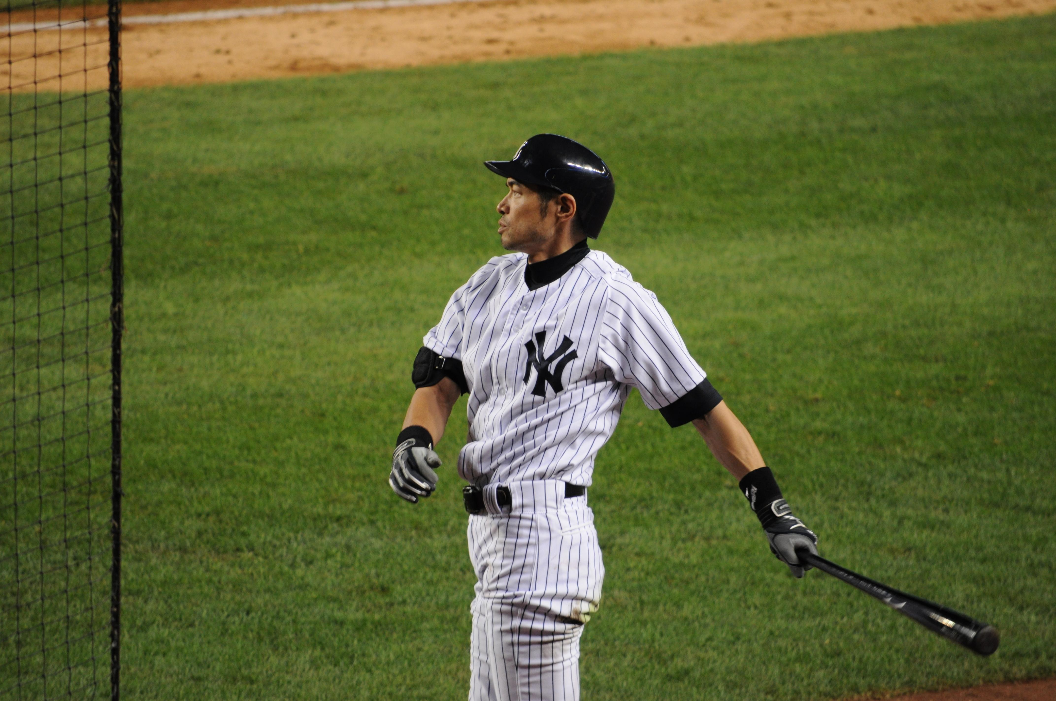 Ichiro on deck.JPG