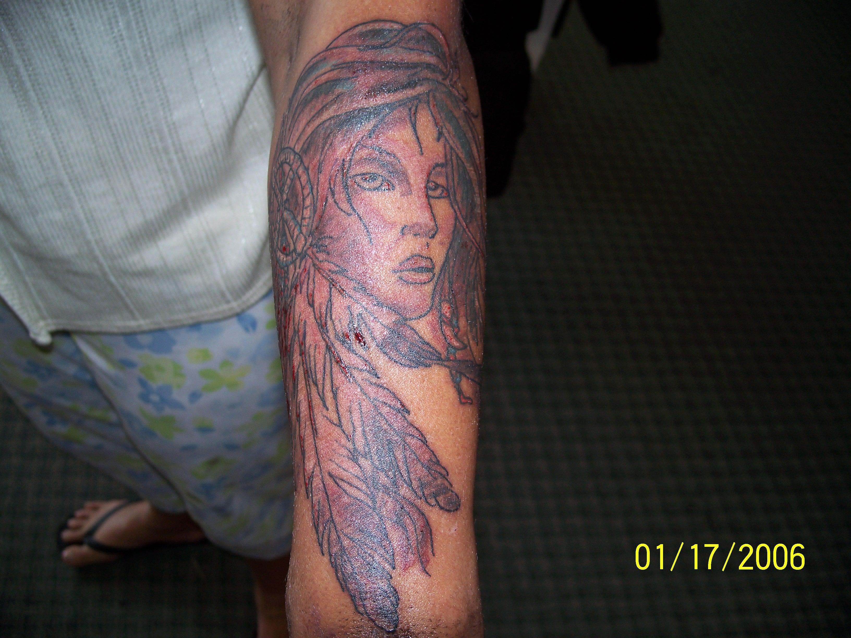 Indian Women Tattoos