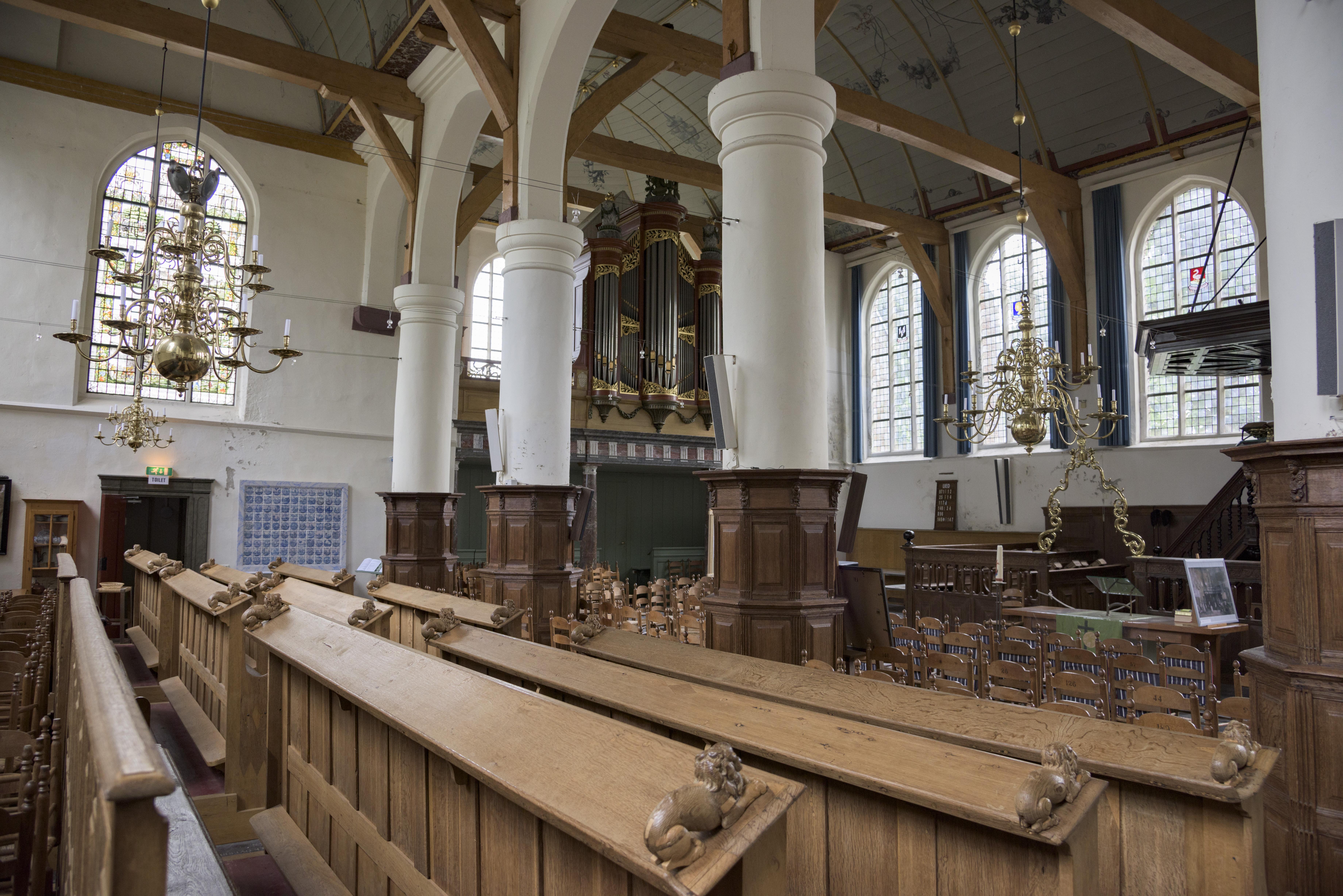 Interieur Broeker Kerk%2C Broek in Waterland hnapel 005 - Broeker Kerk Broek In Waterland