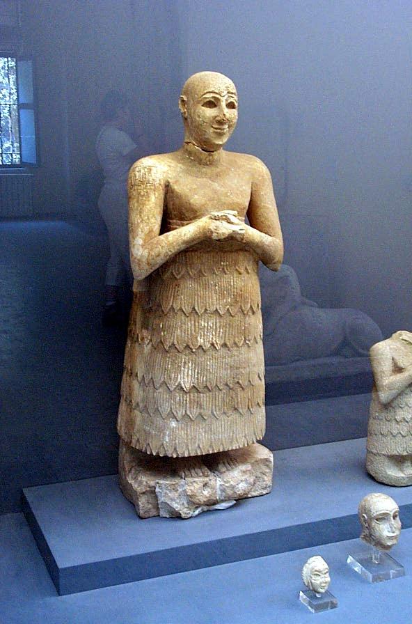 Mesopotamia - Civiltà e arte dei Sumeri... Istanbul_Archaeological_Museum_6431