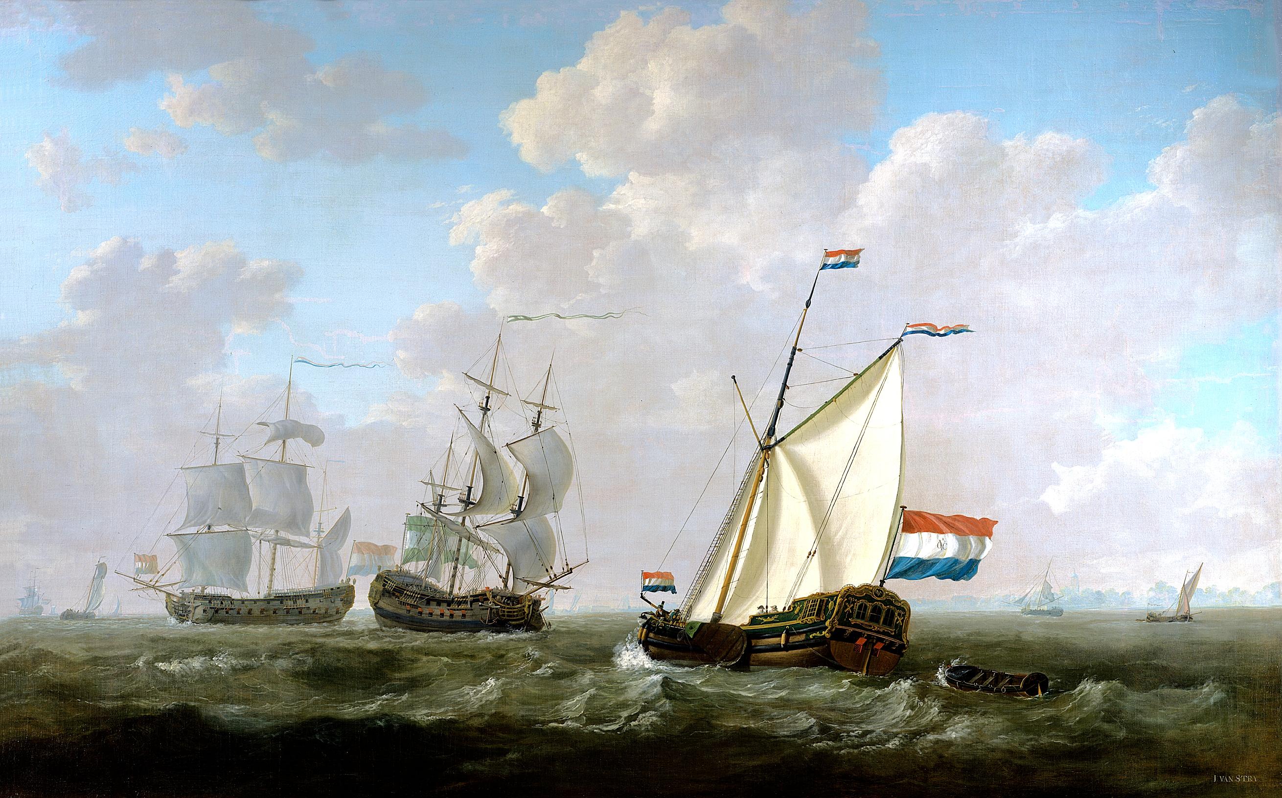 Jacob_van_Strij_-_Het_jacht_van_de_kamer