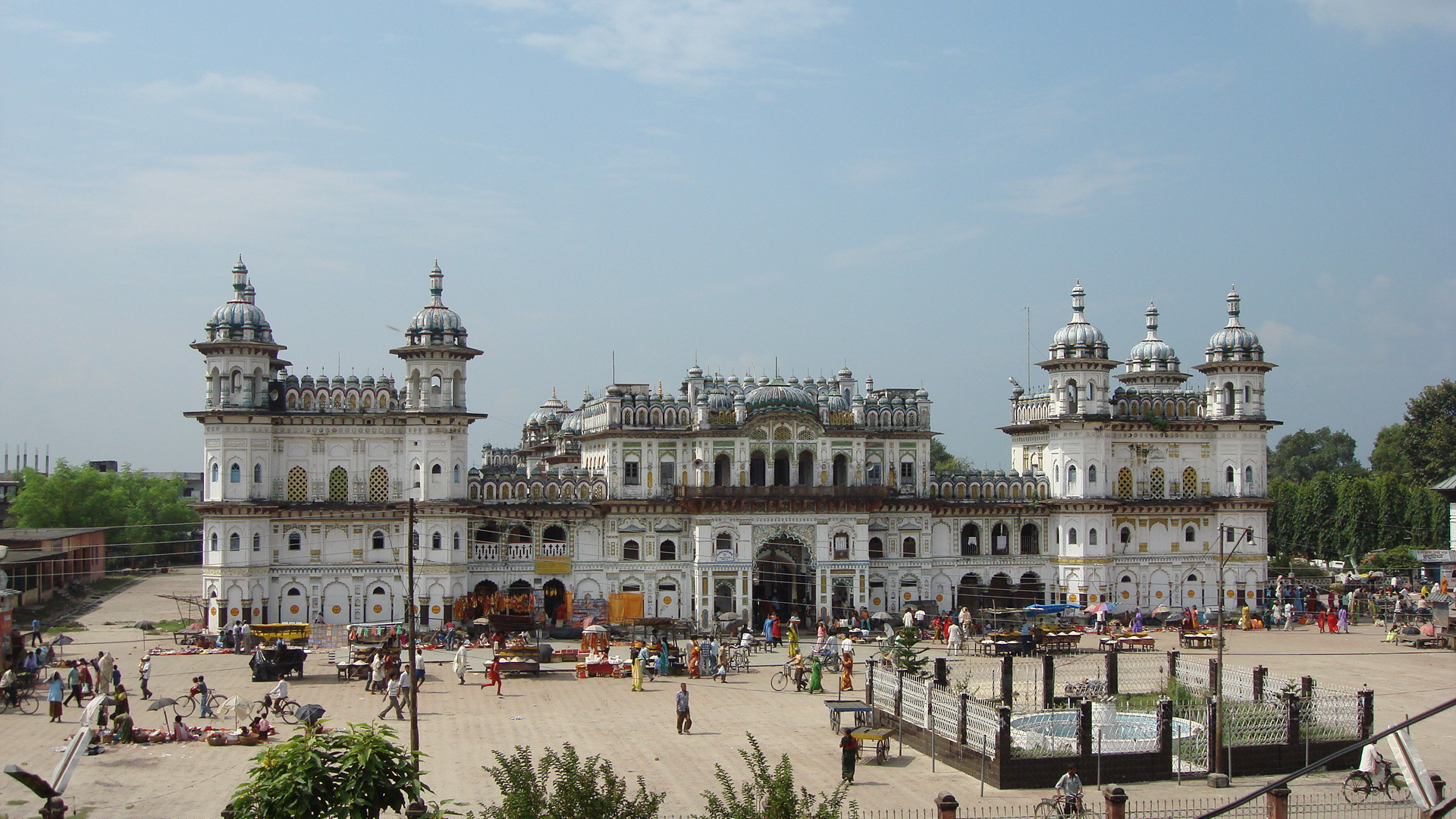 Janakpur Nepal  City pictures : Janki Mandir of Janakpur Dham Nepal Wikipedia, the free ...