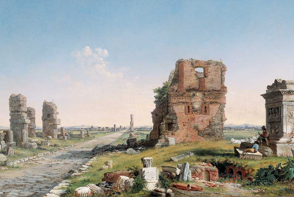 File:John Linton Chapman (1839–1905), Via Appia, 1867. Oil on canvas ...