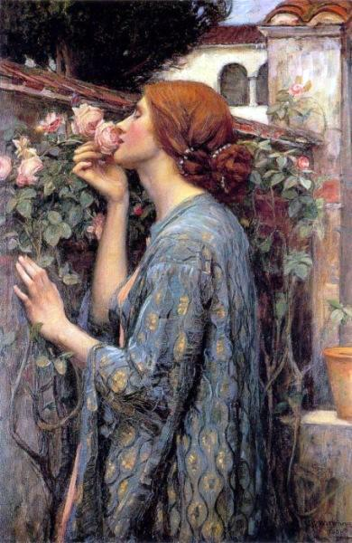 John William Waterhouse - The Soul of the Rose, aka My Sweet Rose.JPG