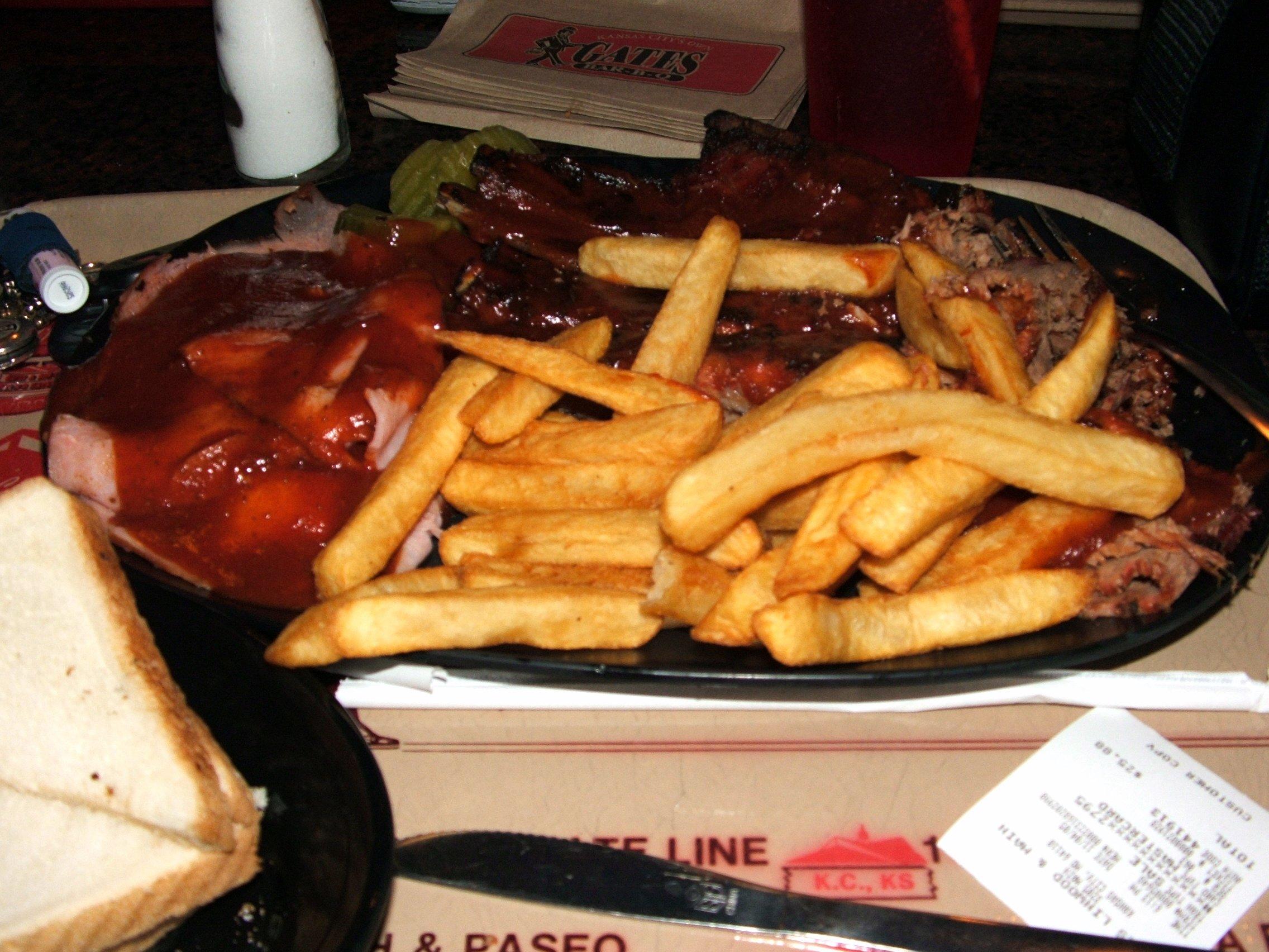 Kansas City-style barbecue