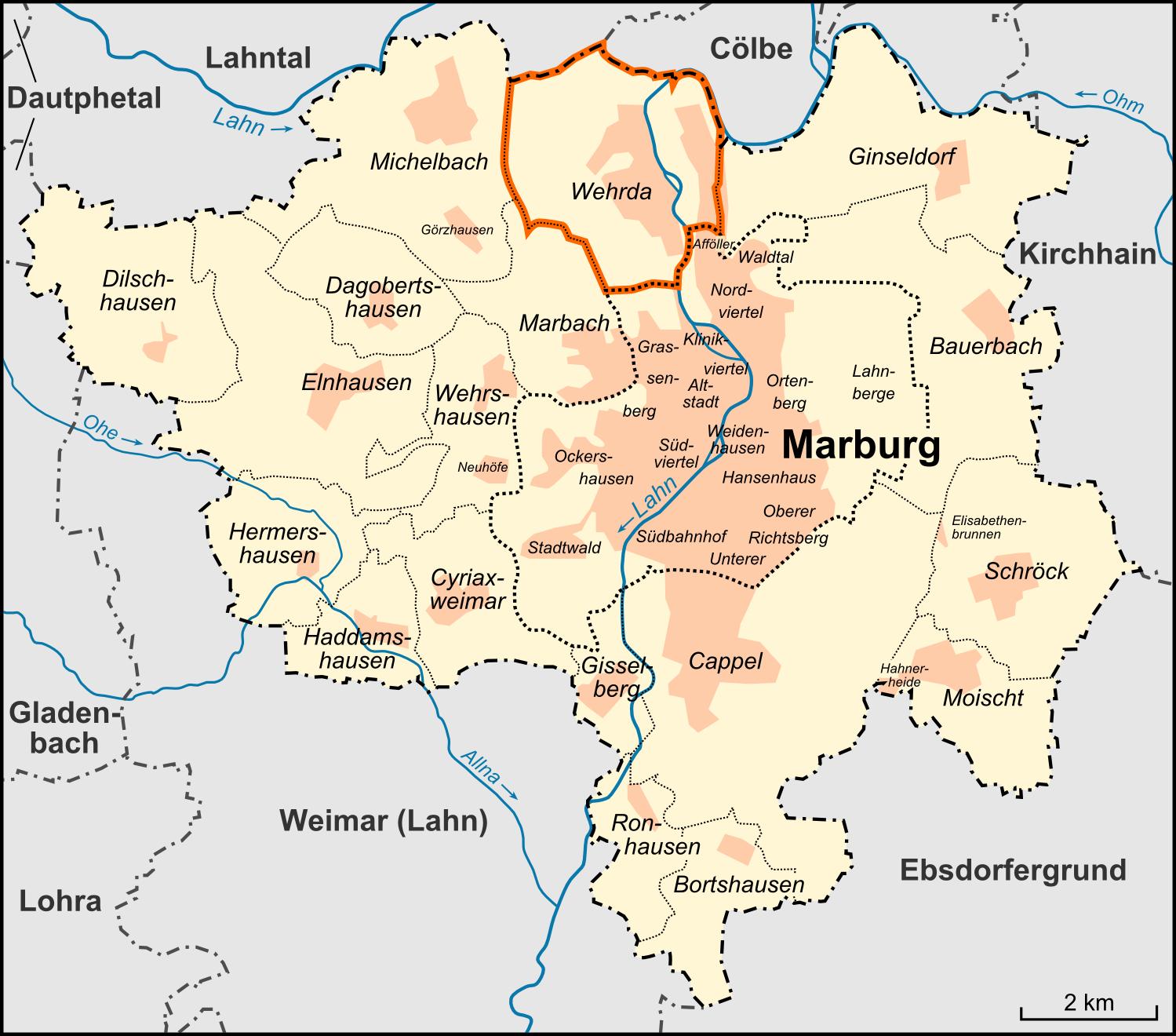 marburg karte Datei:Karte Marburg Stadtteil Wehrda.png – Wikipedia