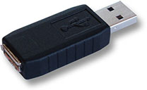 English: This is a hardware based USB keylogger.