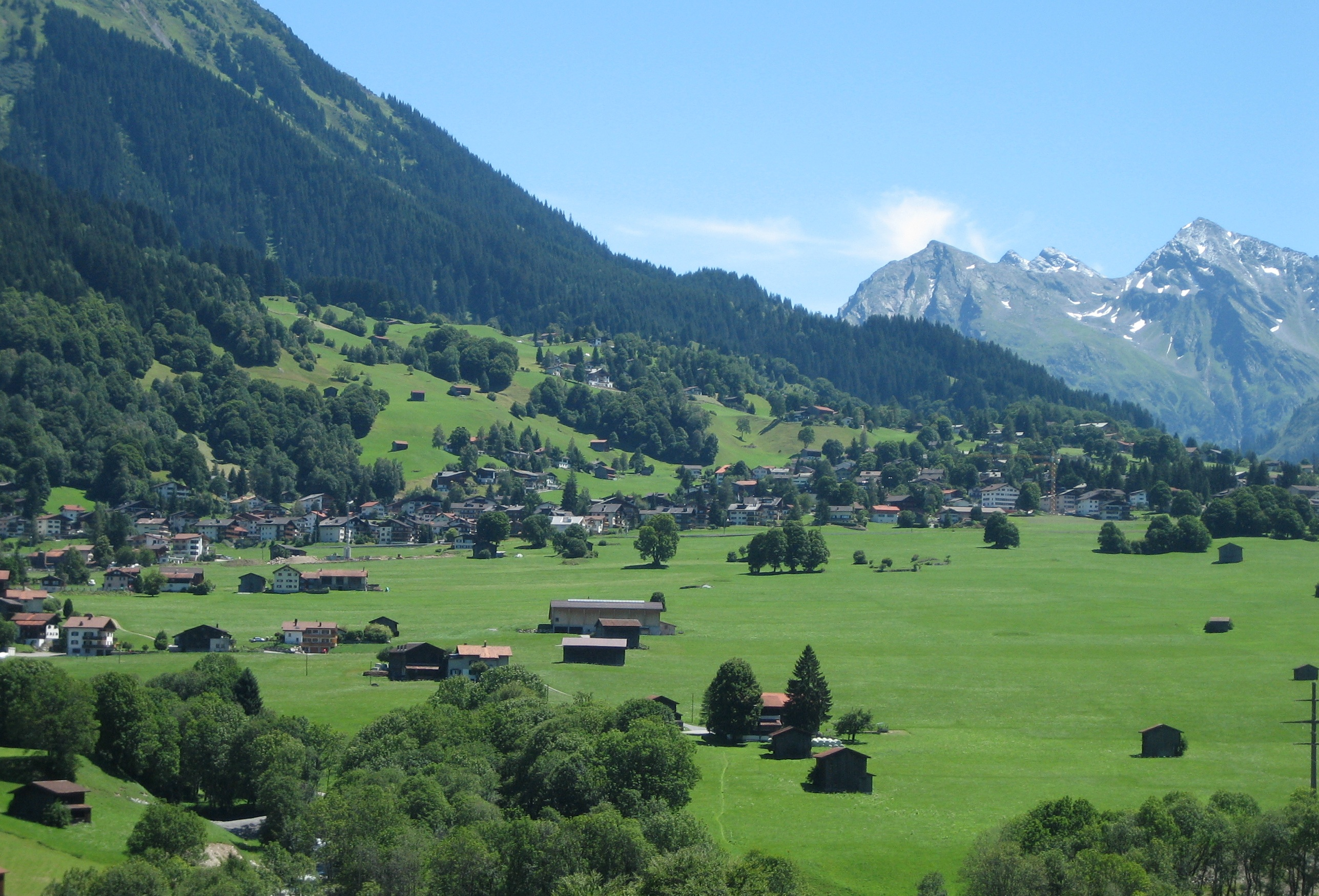 Klosters Switzerland  city photos gallery : Klosters Dorf Wikipedia, the free encyclopedia