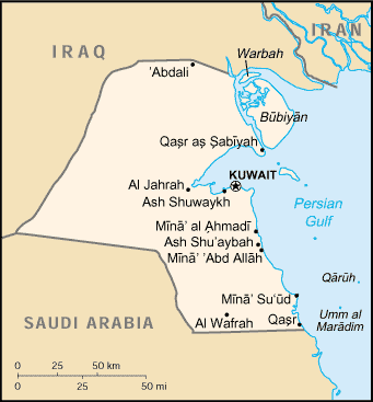 Kuwait-CIA WFB Map (2004).png