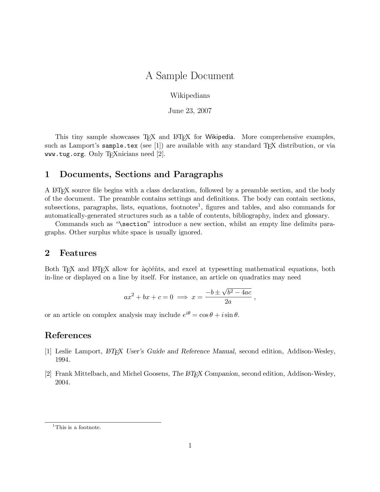 Example of thesis written in latex