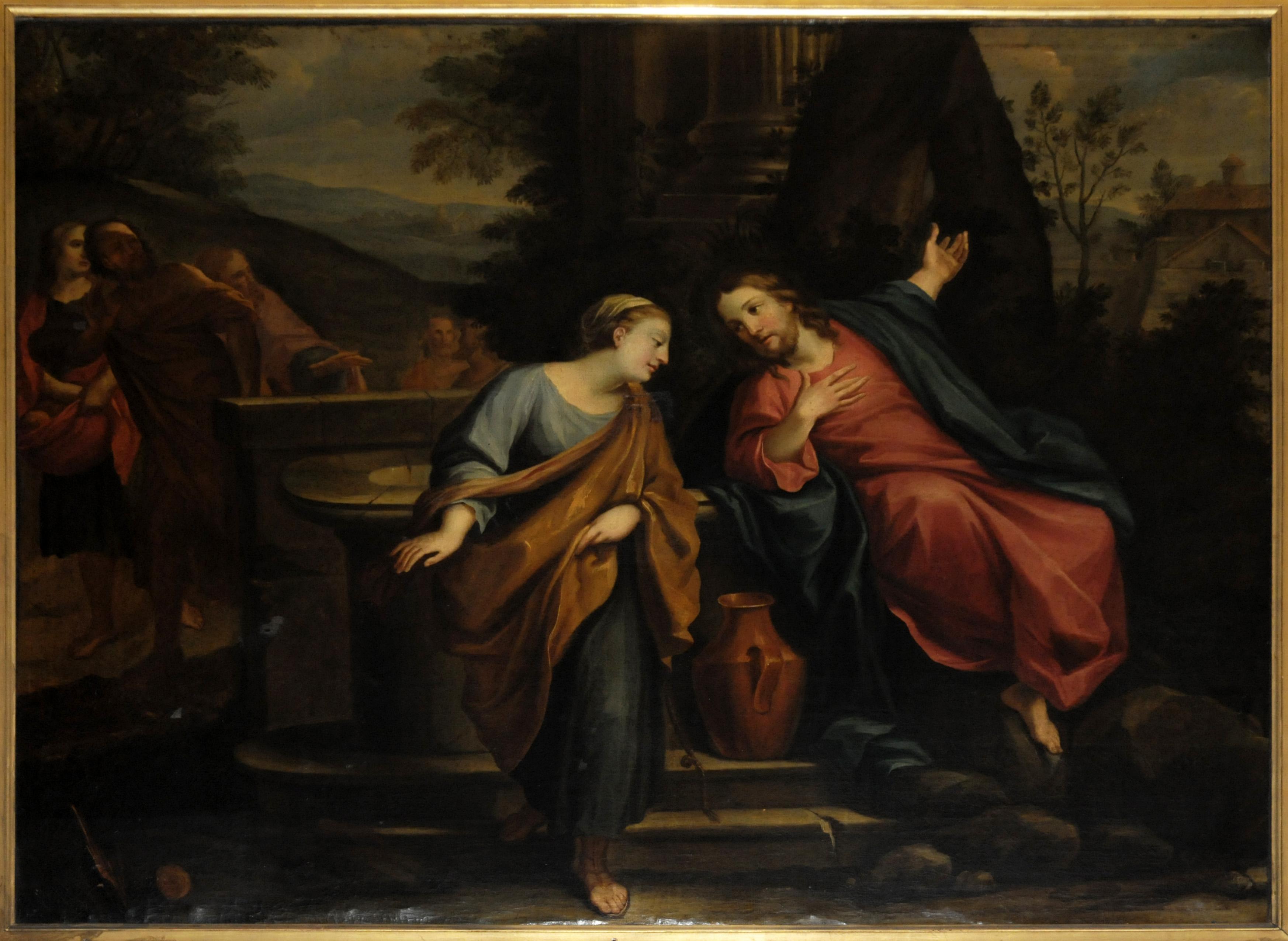 Risultato immagini per incontro con la samaritana