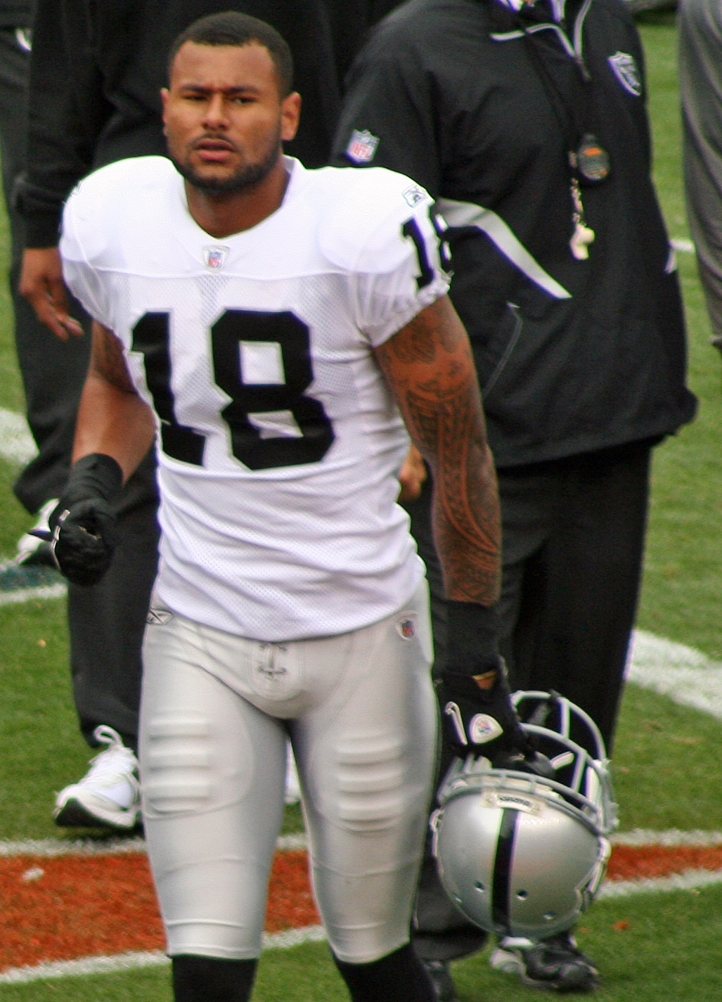 Murphy with the Oakland Raiders in 2010
