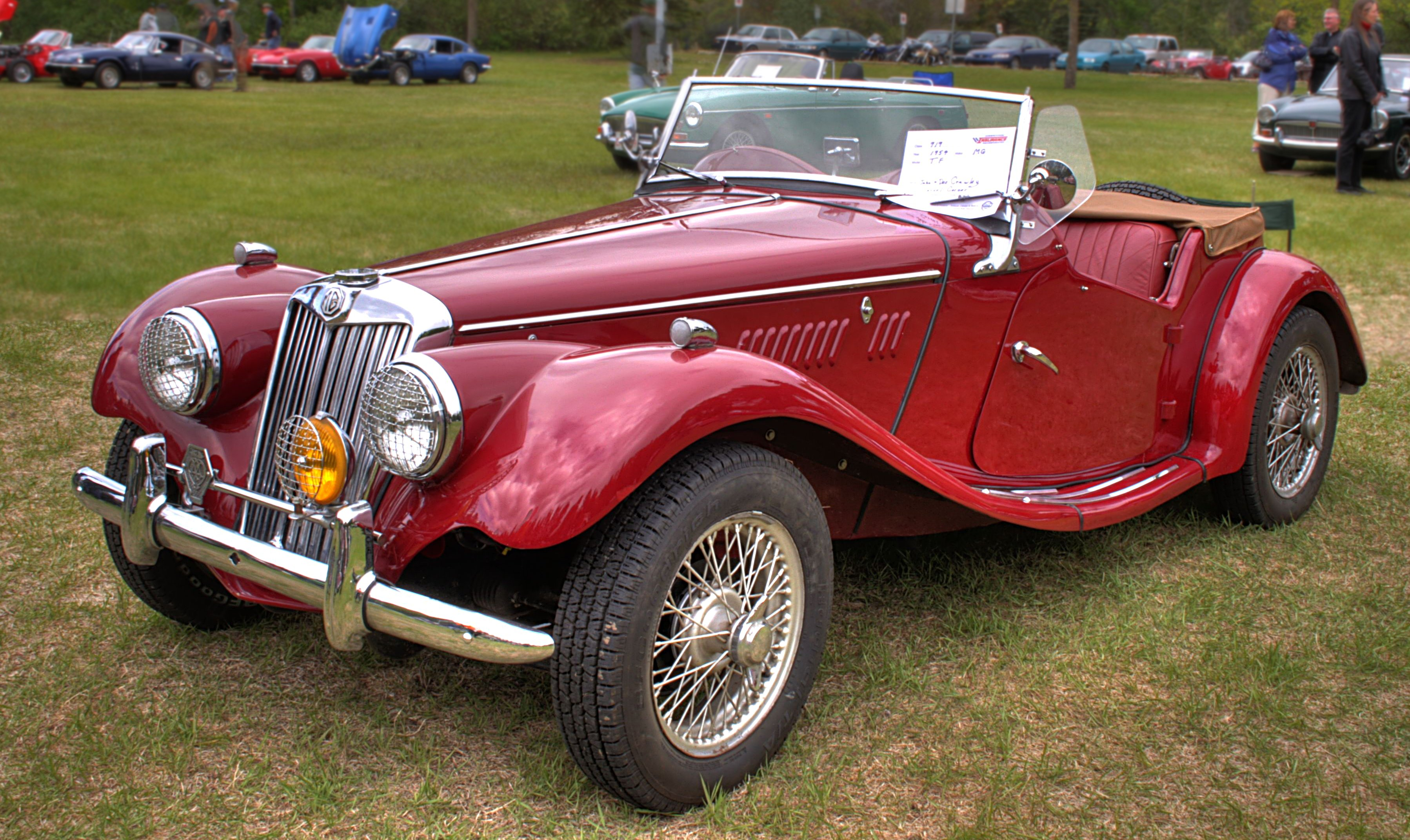 Mg Tf  Classic Car For Sale