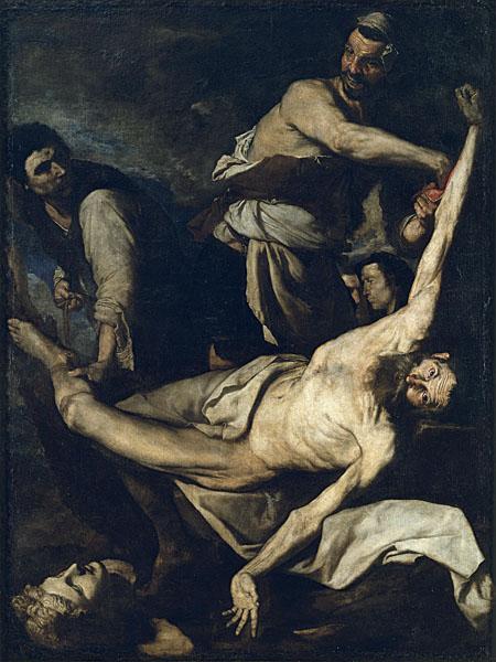 聖バルトロマイの殉教/ホセ・デ・リベーラ】 : ヨーロッパで拷問・処刑 ...